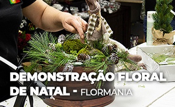 Banner demonstracao floral flormania