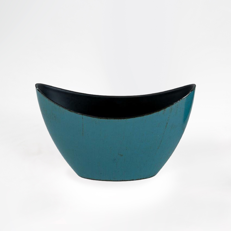 <p>Base Plastico Oval - Azul</p>