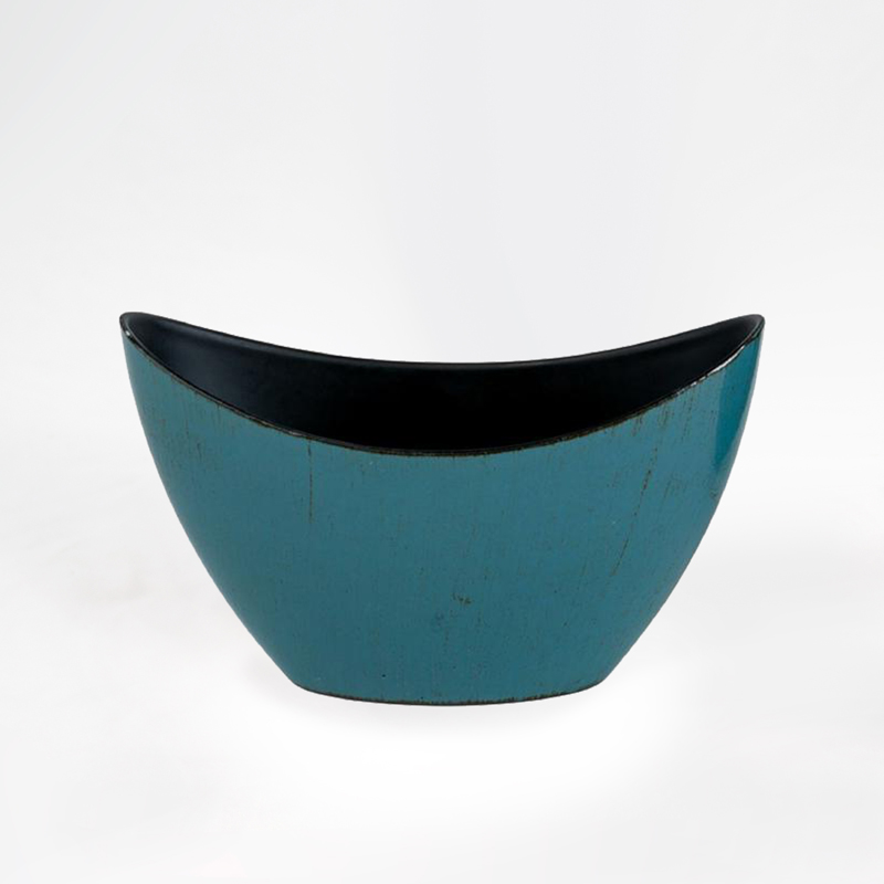 Base Plastico Oval - Azul
